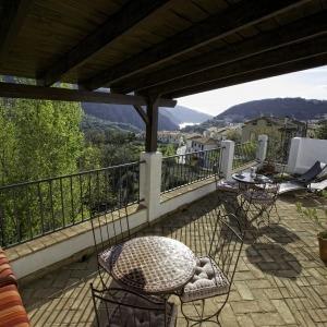 Terraza Casa Rural Arroyo de La Greda