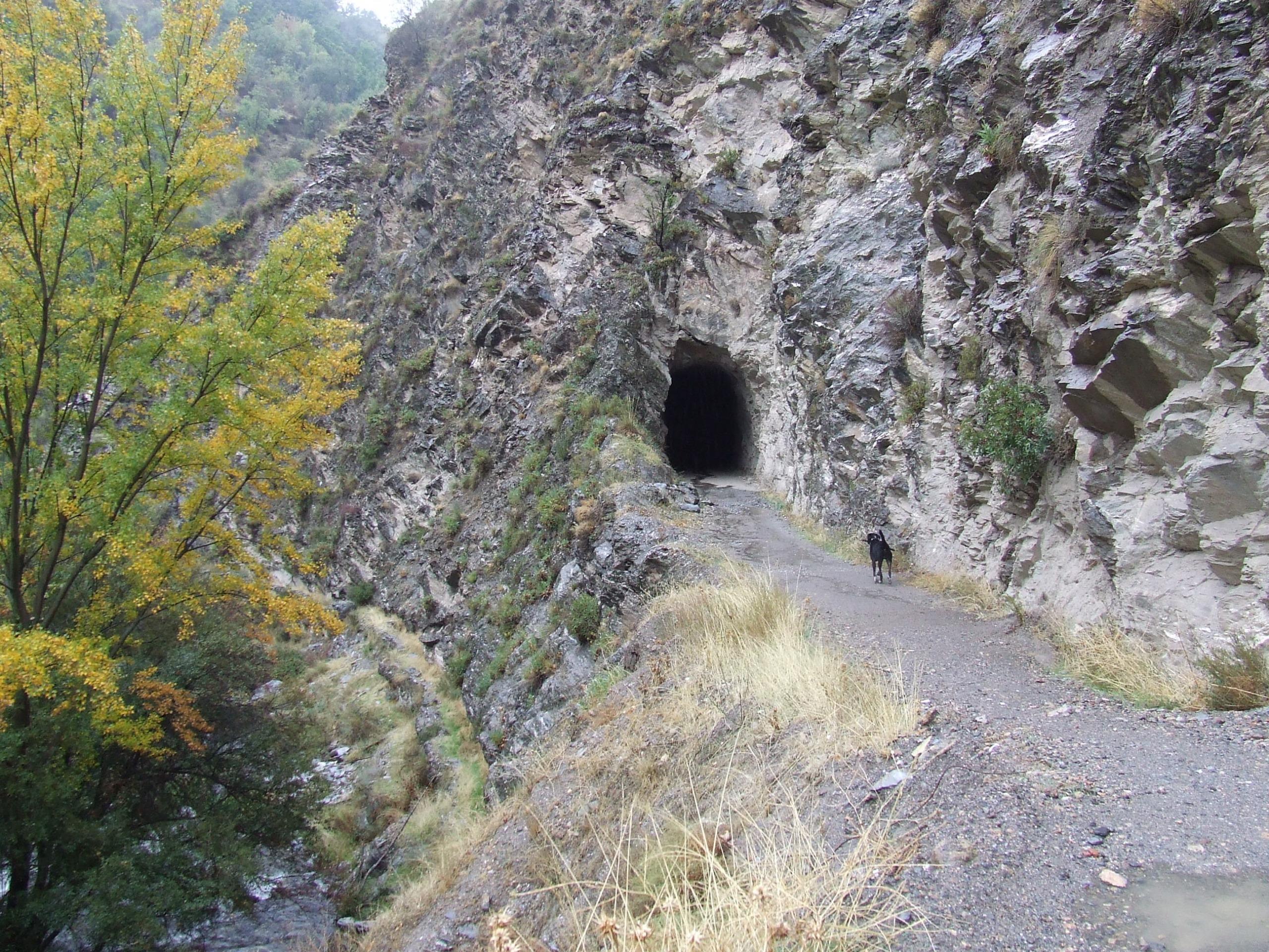 Tunel del Antiguo Tranvía de Sierra Nevada