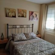 Dormitorio principal apartamento doble Ruralguejar