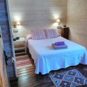 Dormitorio cabaña Mulhacén
