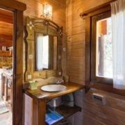 Baño cabaña Mulhacén