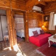 Salón cabaña Mulhacén