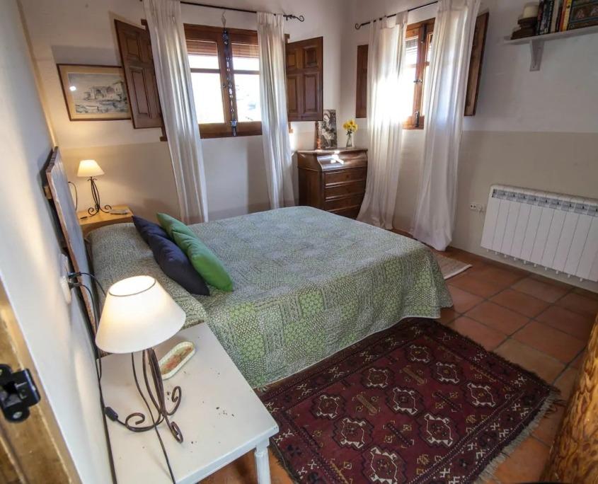 Dormitorio principal Cortijo la Solanilla